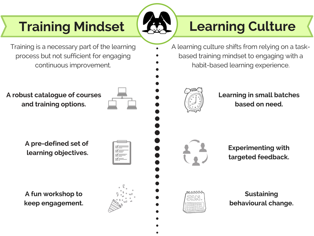Training Mindset Learning Culture