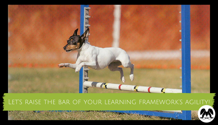 Let's raise the bar of your learning framework's agility
